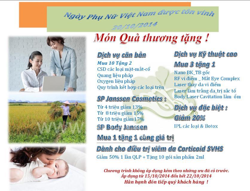 Chuong trinh KM 201414 online
