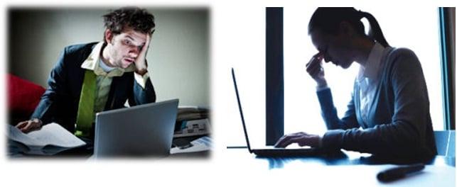 dùng máy tính có hại da không